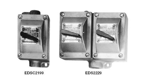Eds series explosionproof motor starter control stations for Explosion proof motor starter