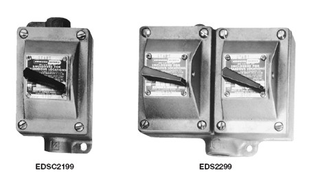 Eds series explosionproof motor starters royal wholesale for Hazardous location motor starter
