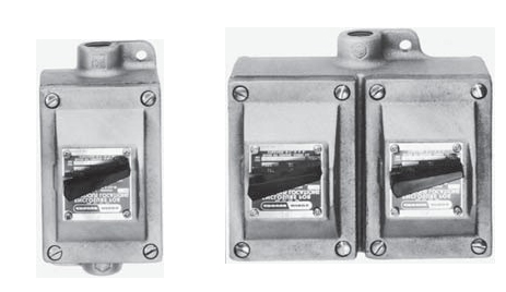 Eds Series Explosionproof Snap Switch Control Station on Explosion Proof Receptacles Hubbell
