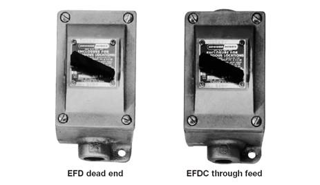 Efd series explosionproof motor starters royal wholesale for Hazardous location motor starter