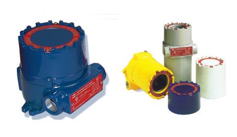 EIH and EIHT Series Explosionproof Instrument Enclosures