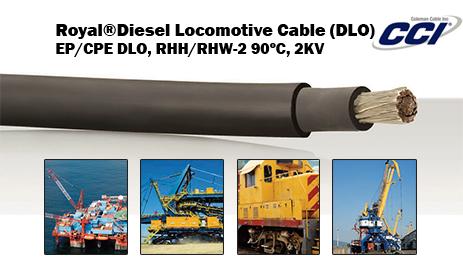 Royal Diesel Locomotive Cable Dlo