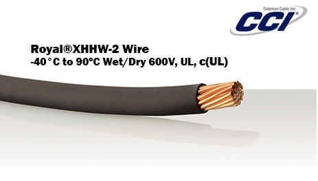 Royal XHHW-2 Wire