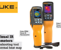 Fluke Visual IR Thermometers. Models VT02 and VT04